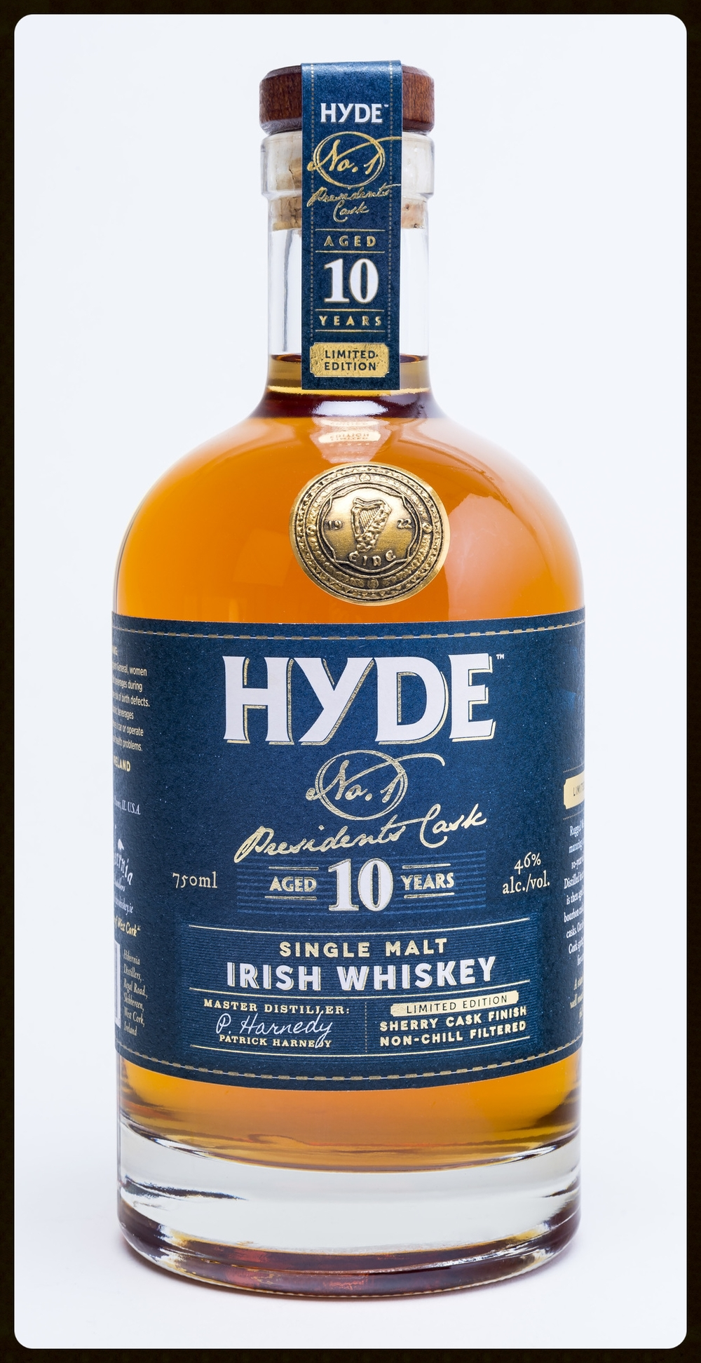 HYDE Presidents Cask Irish Whiskey